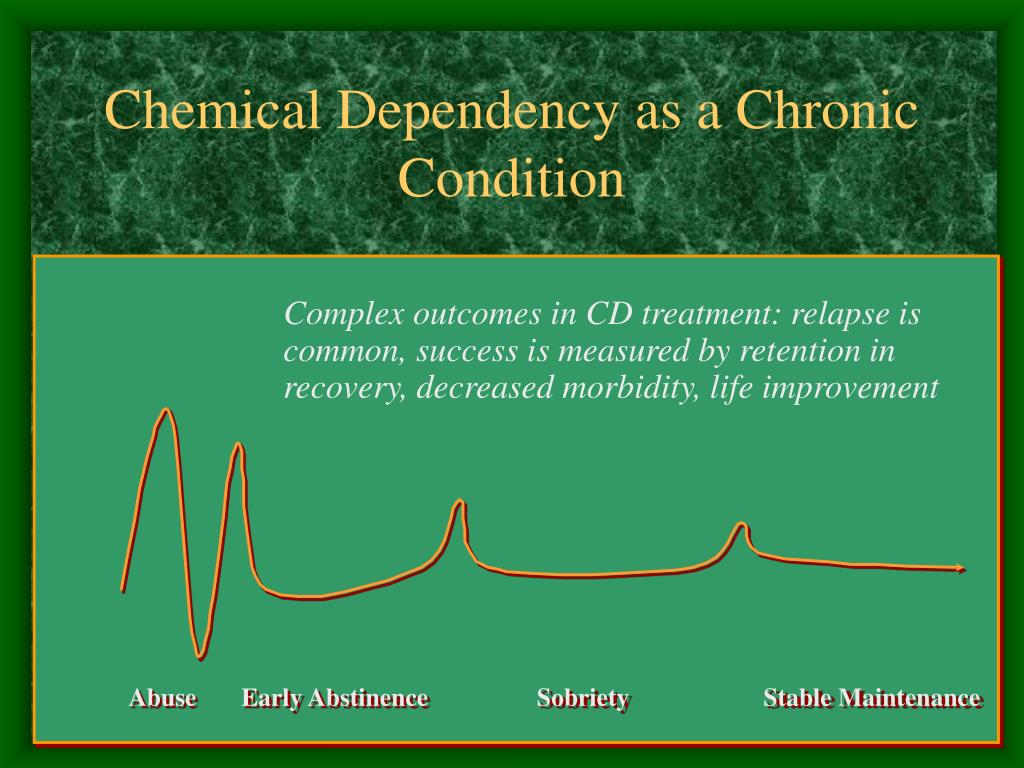 Chemical Dependency as a Chronic Condition