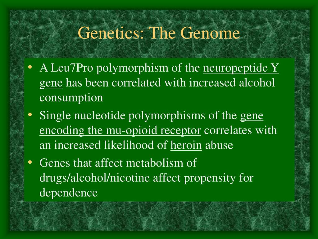 Genetics: The Genome