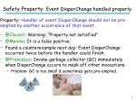 safety property event diaperchange handled properly