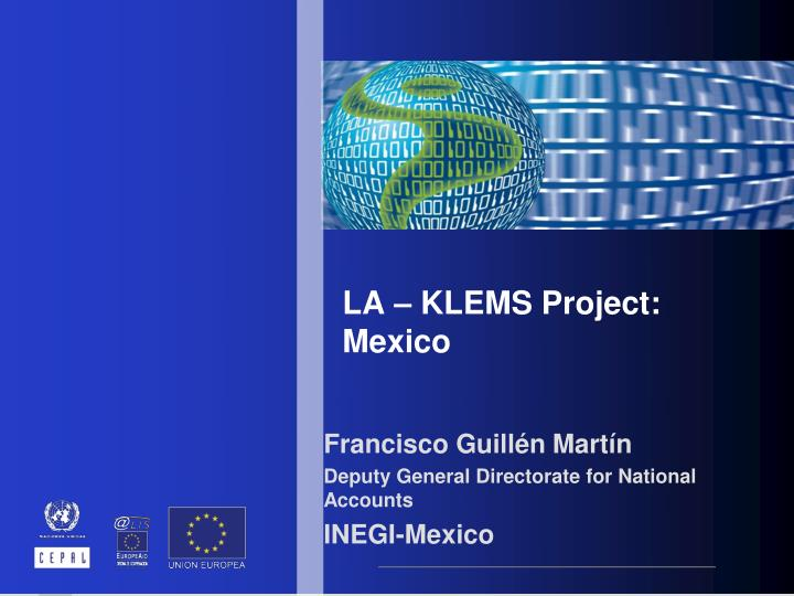 La klems project mexico