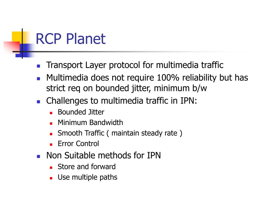 RCP Planet