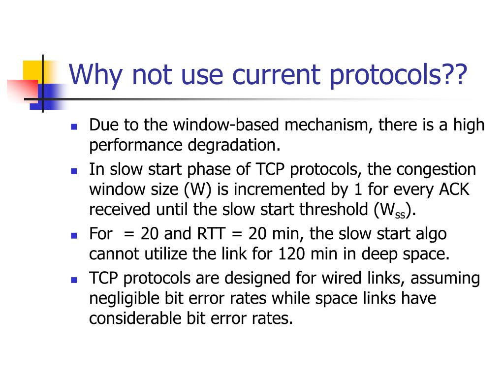 Why not use current protocols??