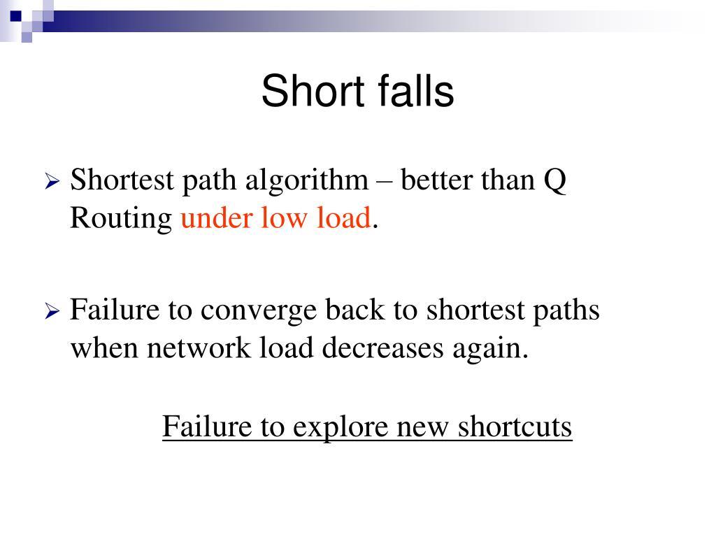 Short falls
