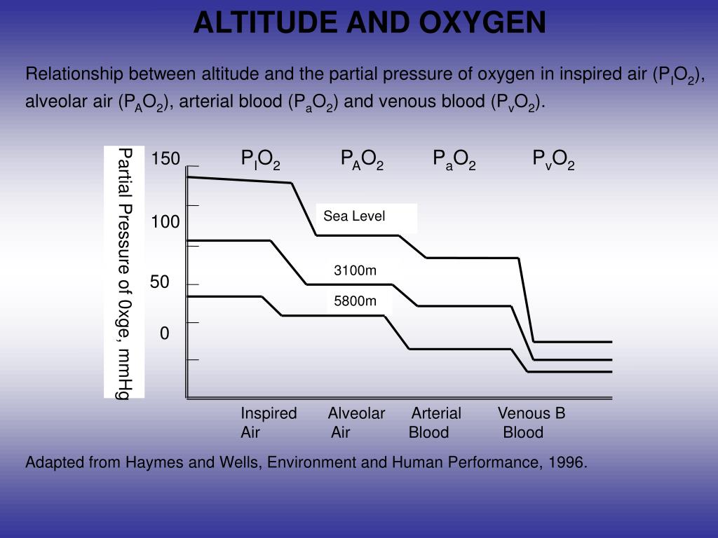 ALTITUDE AND OXYGEN