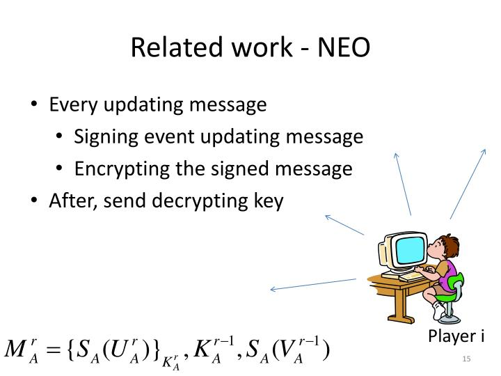 Related work - NEO