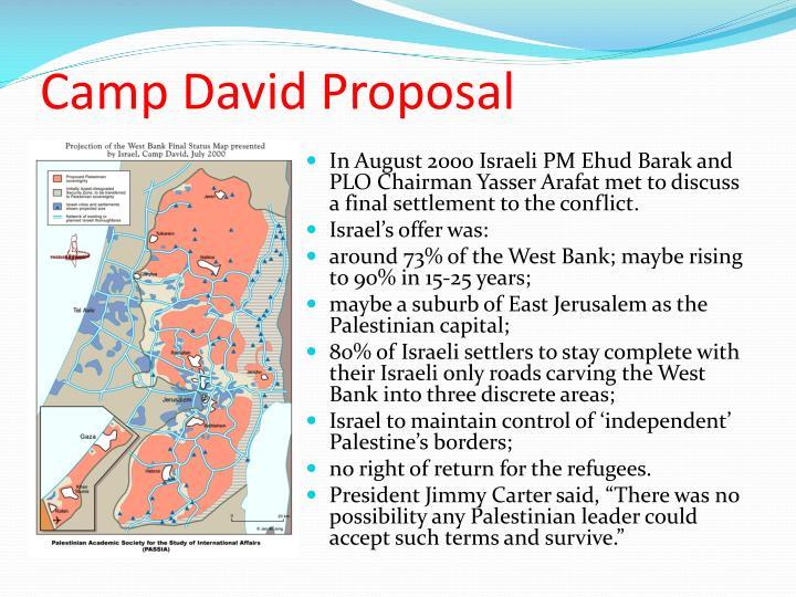 Camp David Proposal