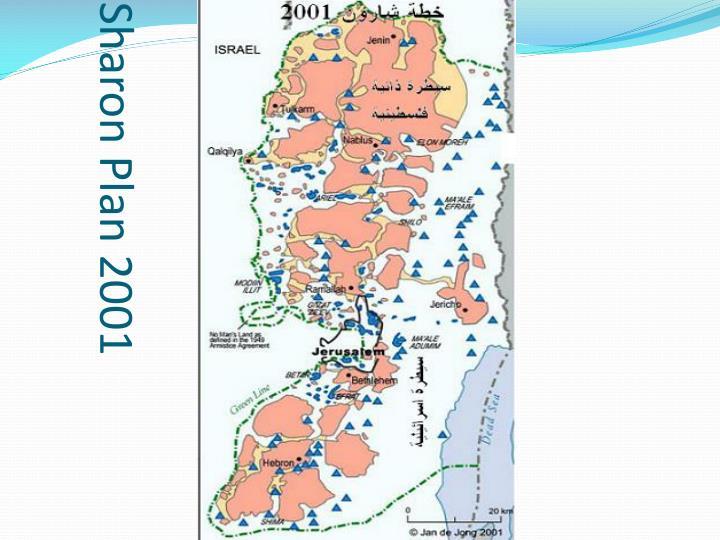 Sharon Plan 2001