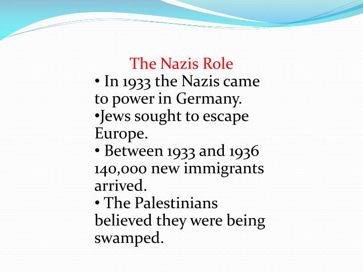 The Nazis Role