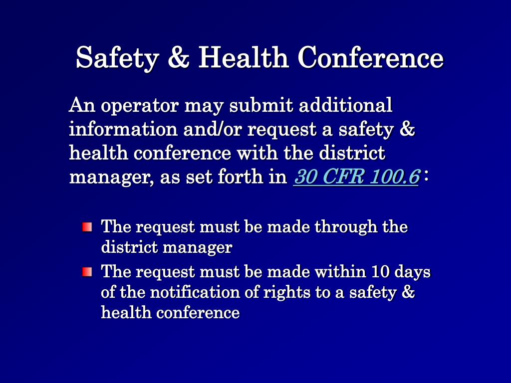 Safety & Health Conference