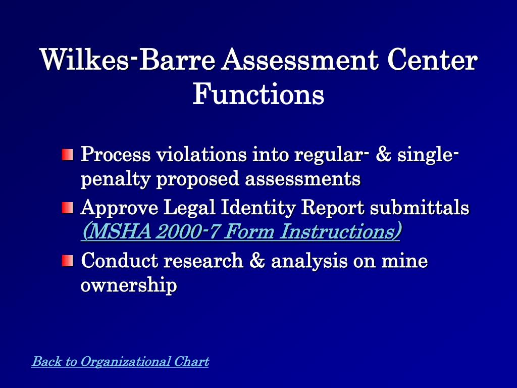 Wilkes-Barre Assessment Center