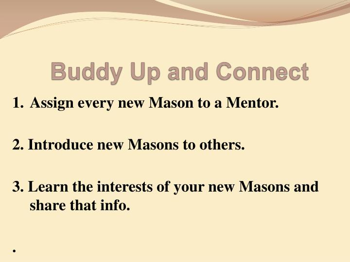 Buddy Up and Connect