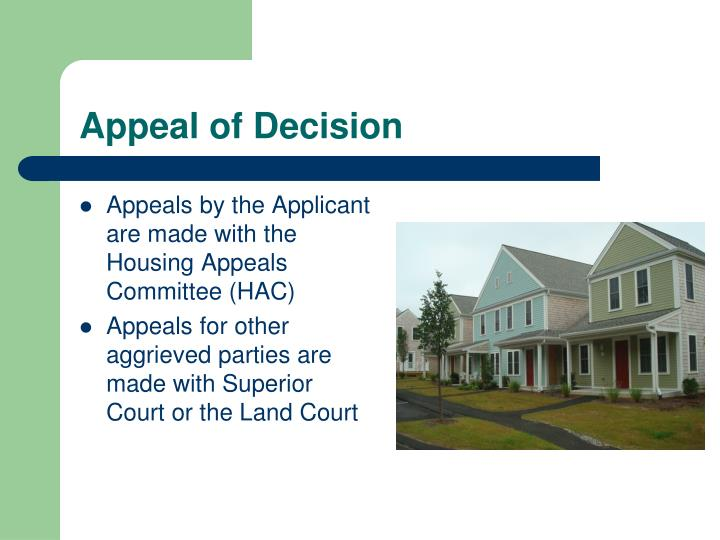 Appeal of Decision