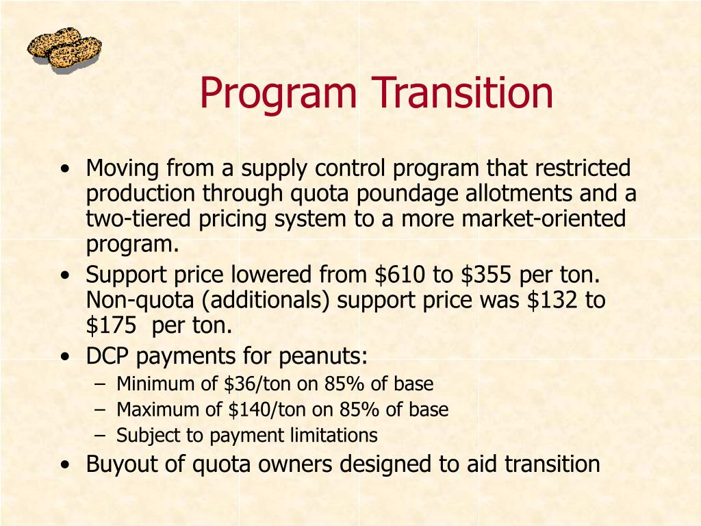 Program Transition