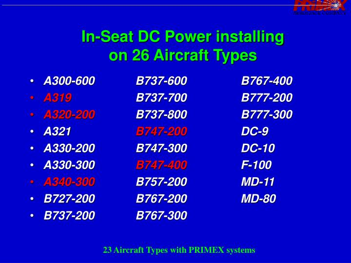 In-Seat DC Power installing