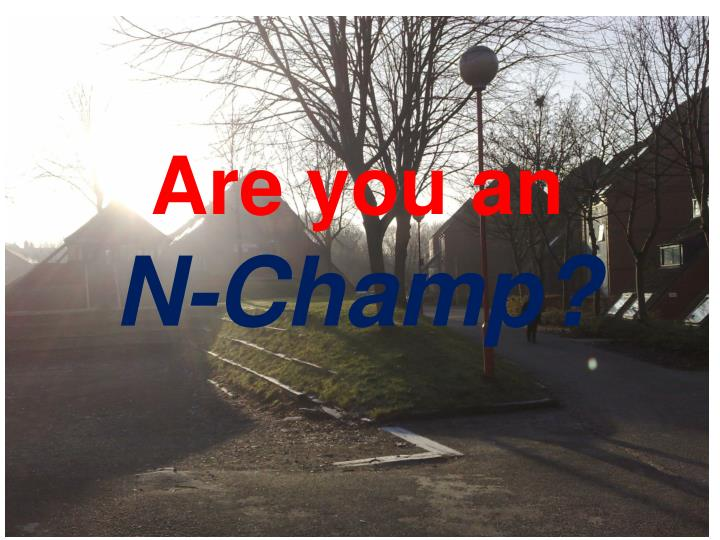 Are you an n champ2