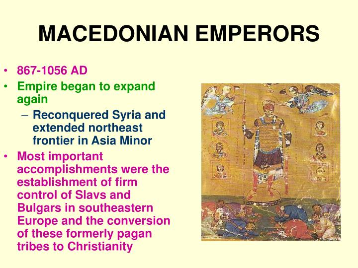 MACEDONIAN EMPERORS
