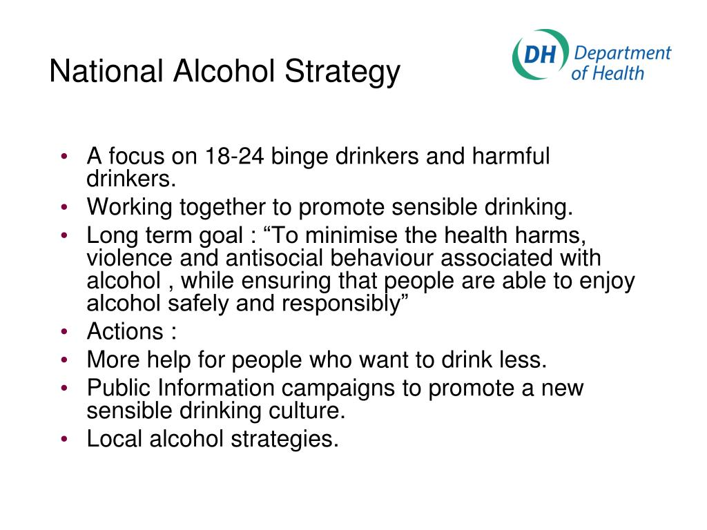 National Alcohol Strategy