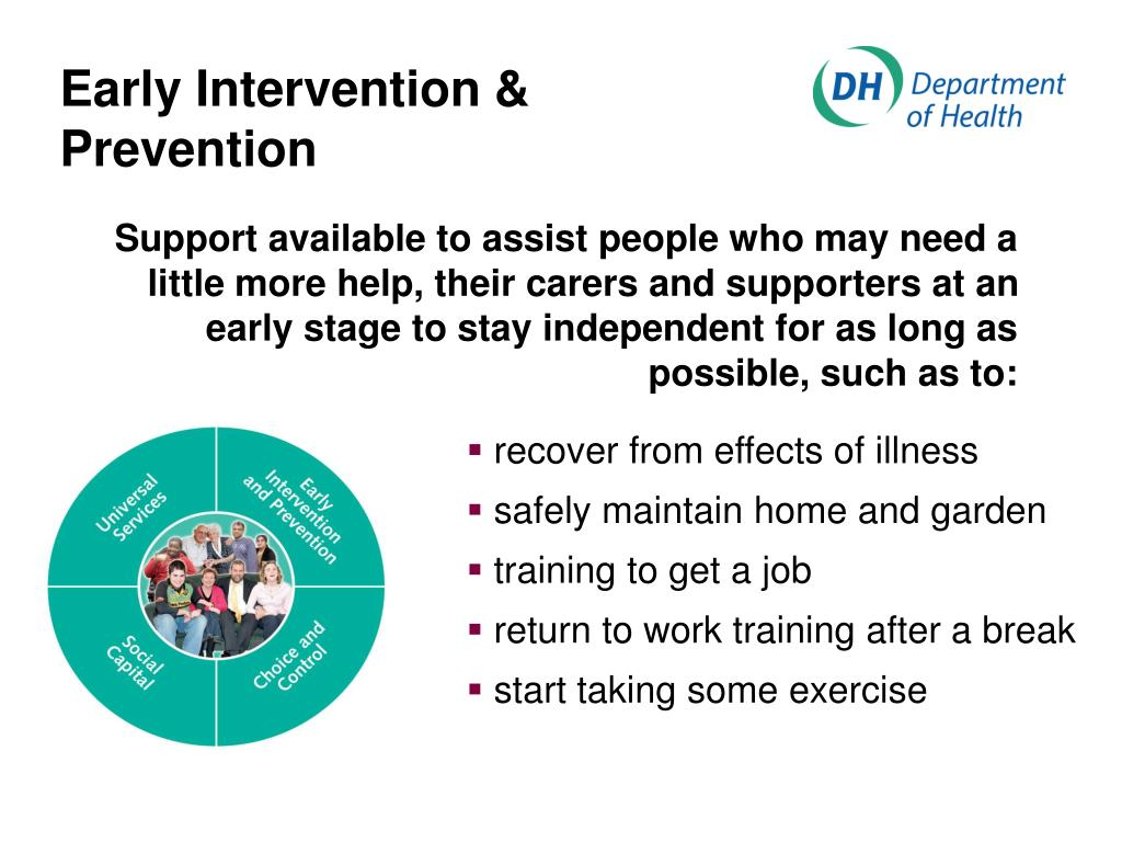Early Intervention & Prevention