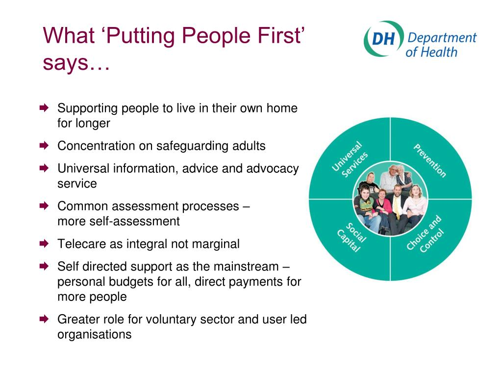 What 'Putting People First'