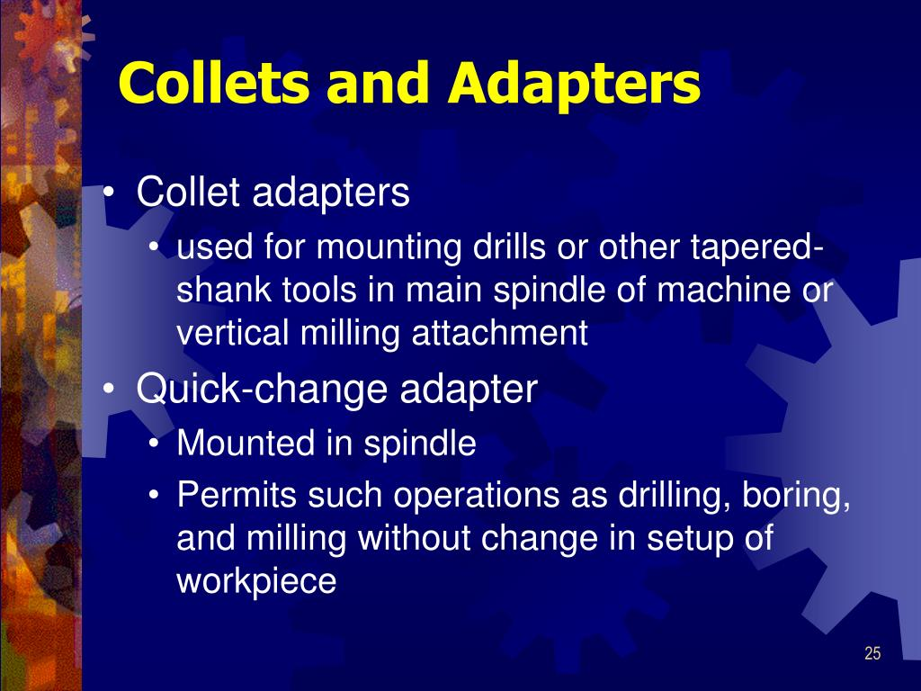 Collets and Adapters