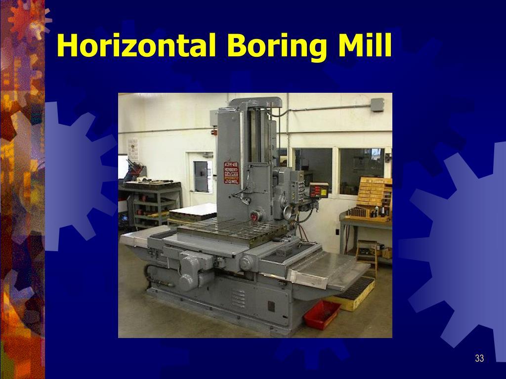 Horizontal Boring Mill