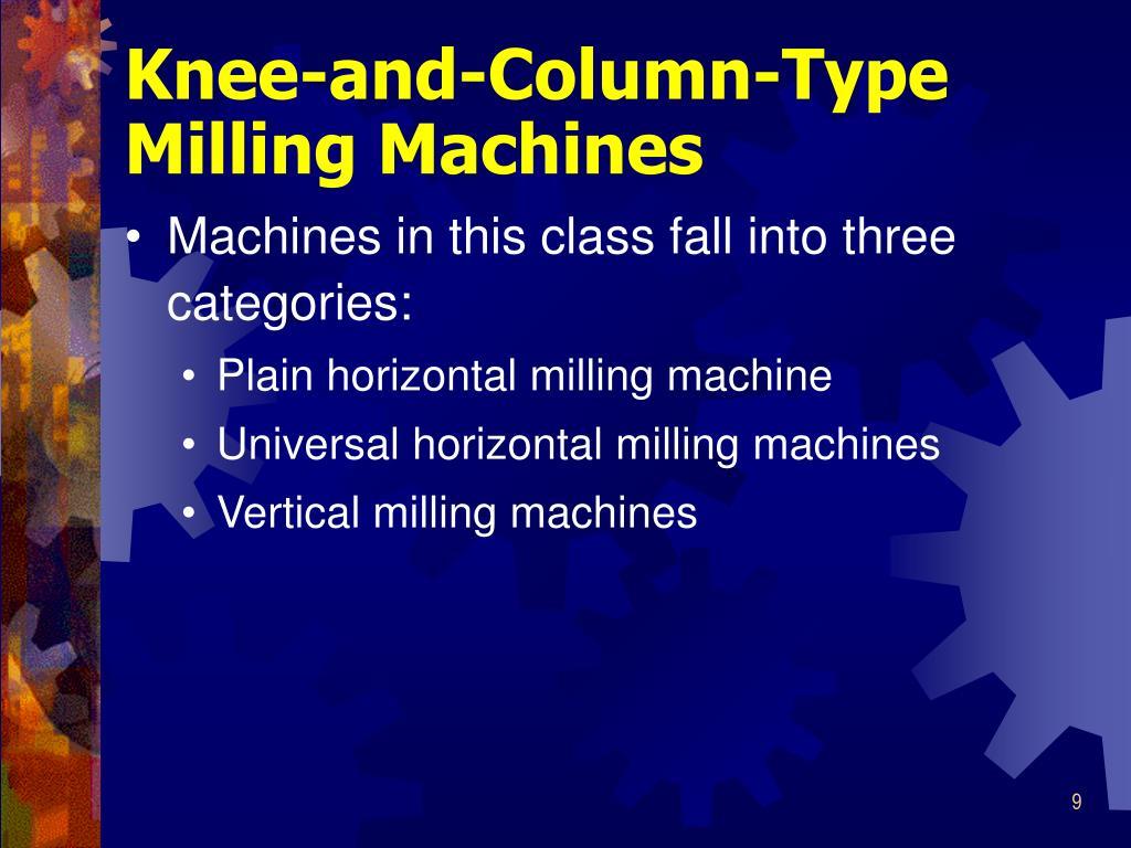 Knee-and-Column-Type