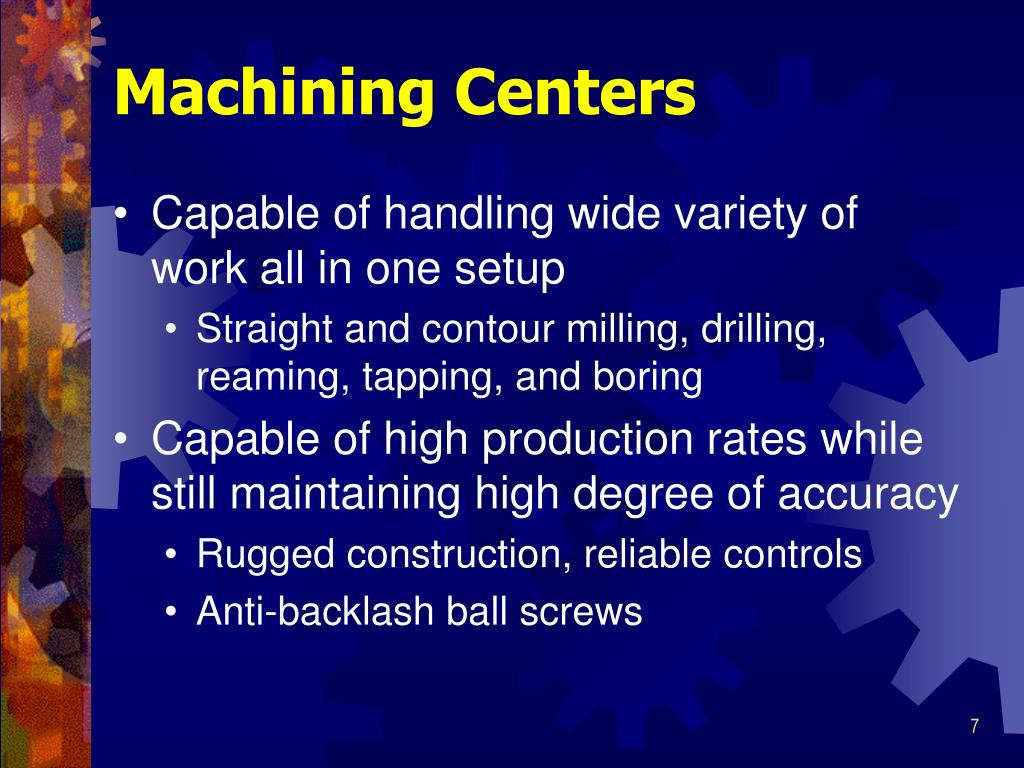 Machining Centers