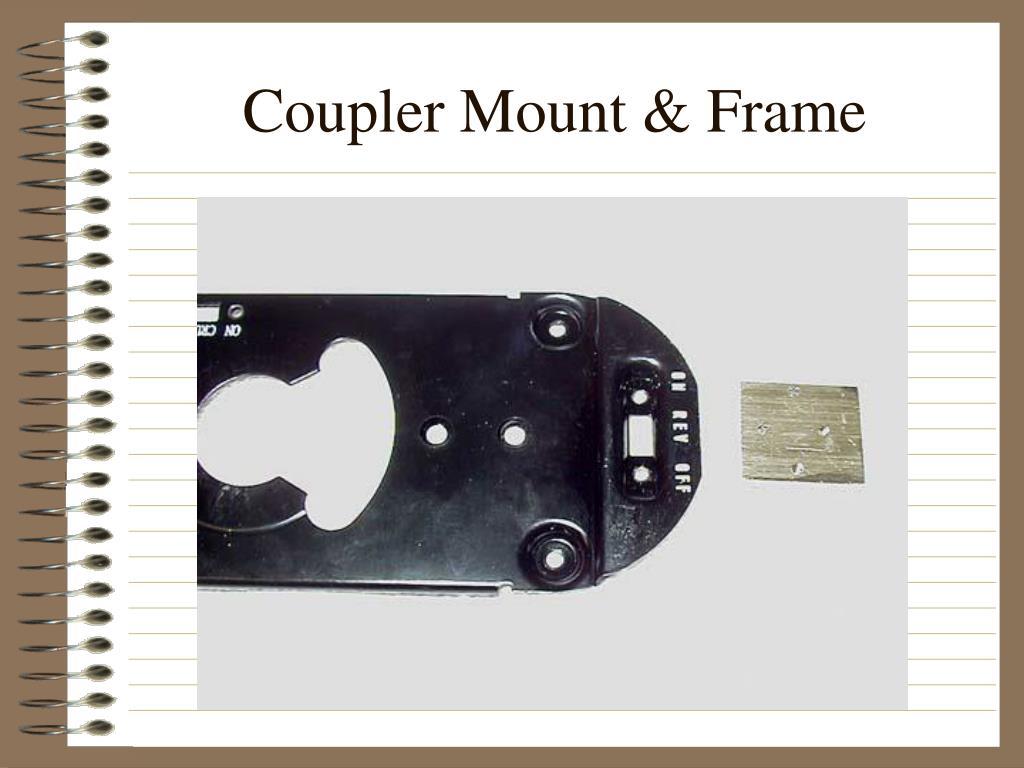 Coupler Mount & Frame