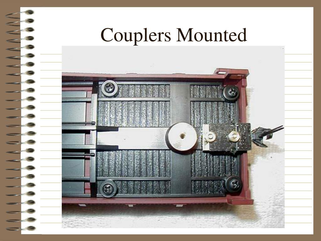 Couplers Mounted