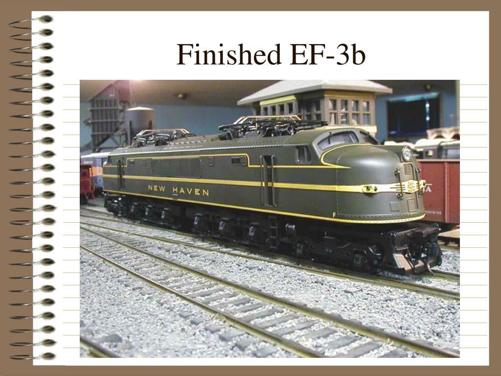 Finished EF-3b
