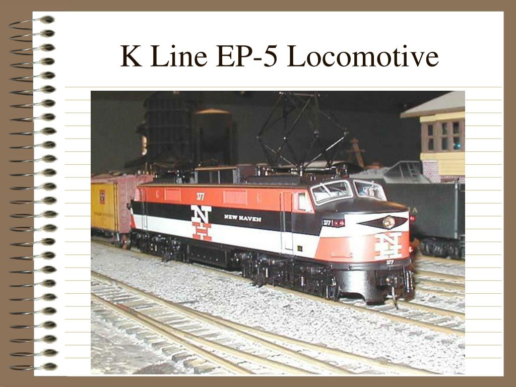K Line EP-5 Locomotive