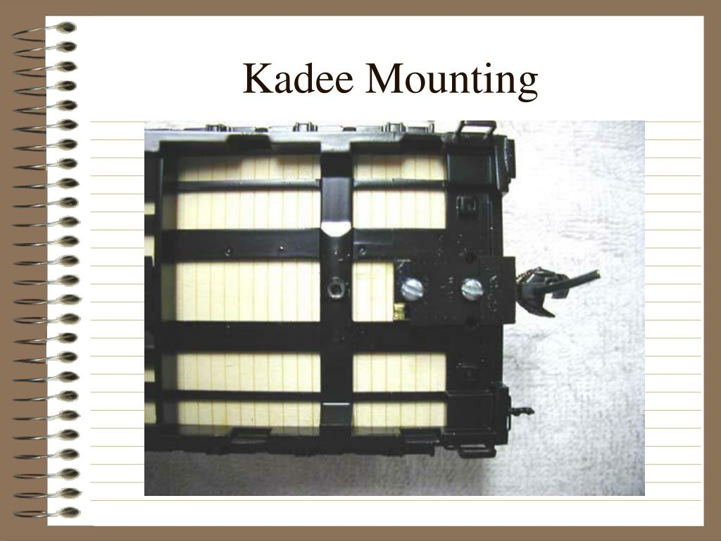 Kadee Mounting