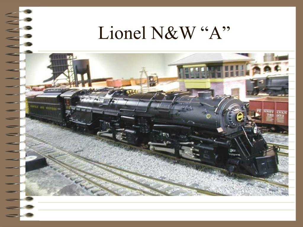 """Lionel N&W """"A"""""""