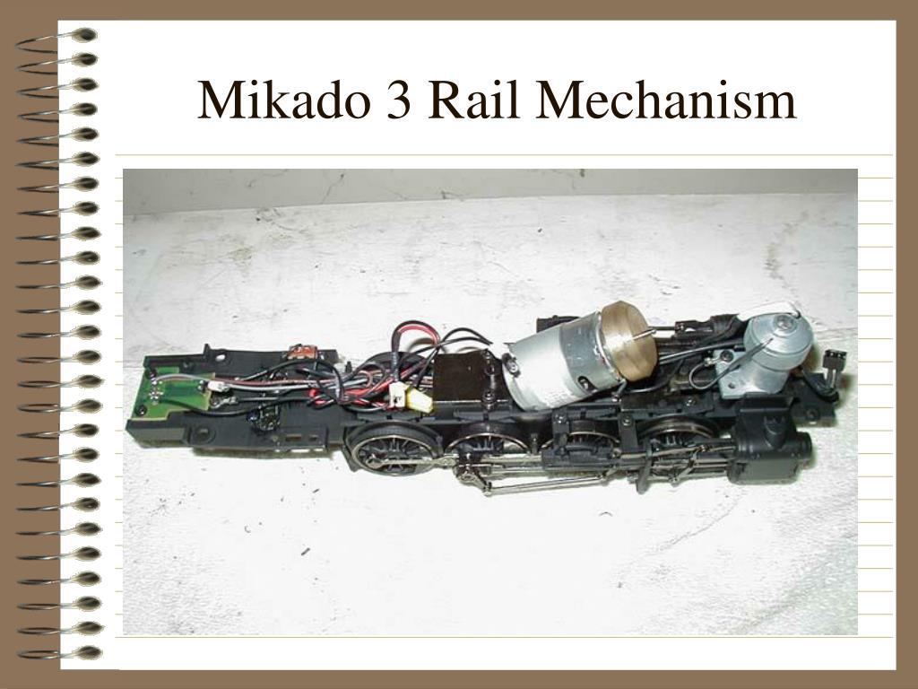 Mikado 3 Rail Mechanism