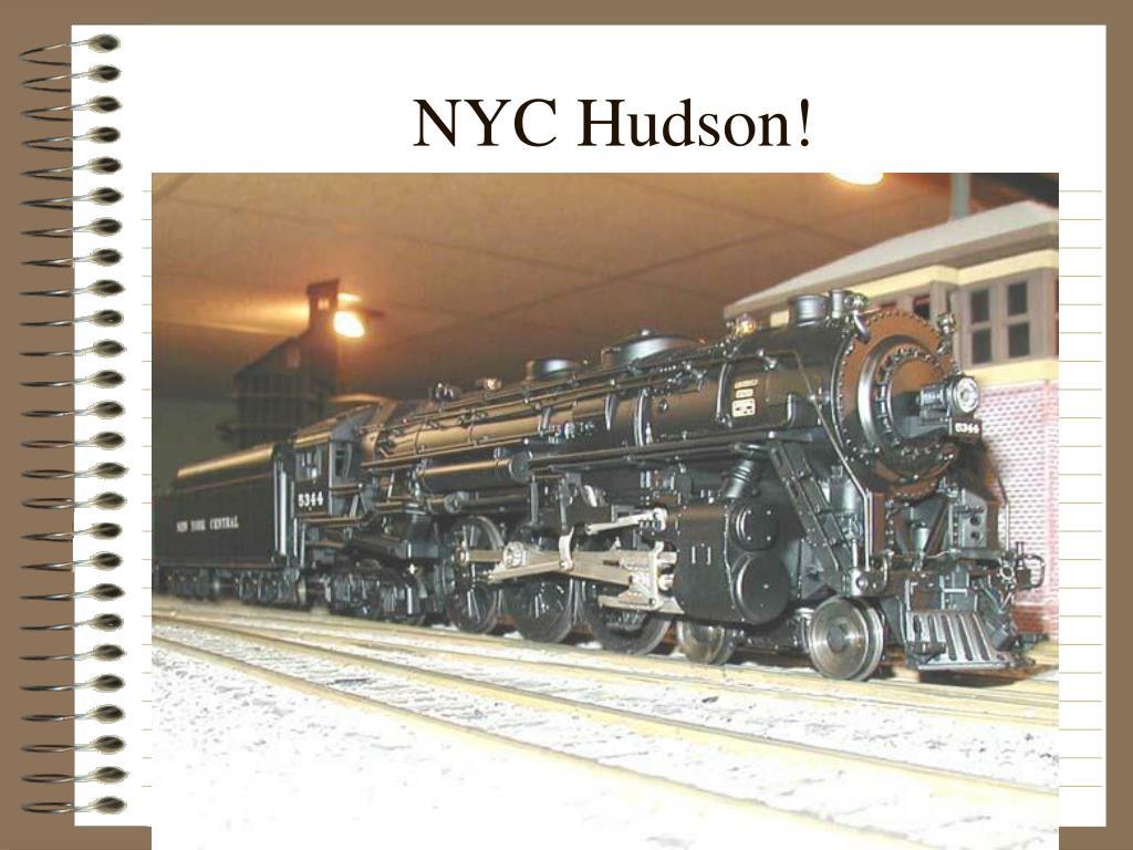 NYC Hudson!