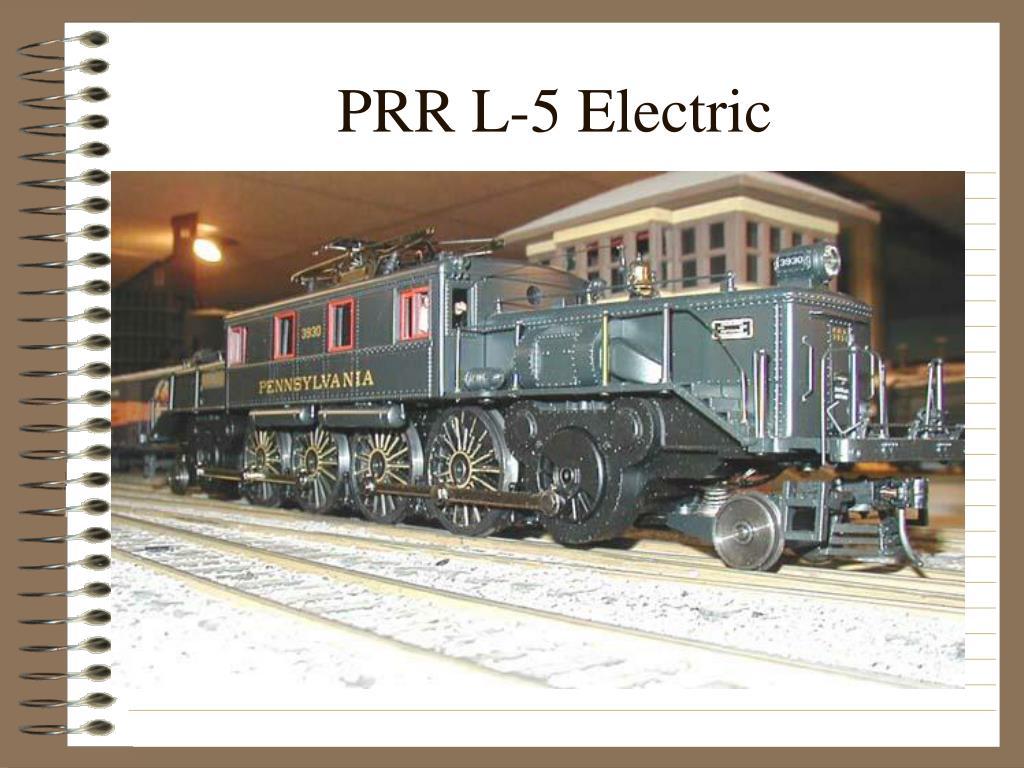 PRR L-5 Electric