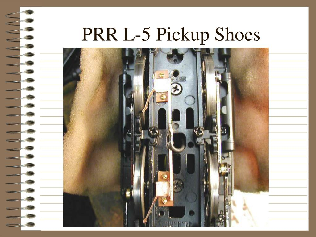 PRR L-5 Pickup Shoes