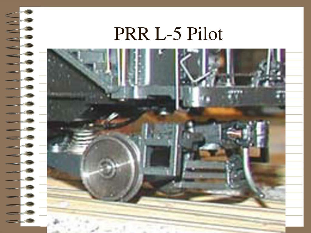 PRR L-5 Pilot