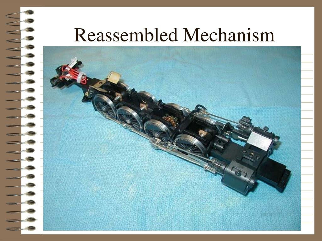 Reassembled Mechanism