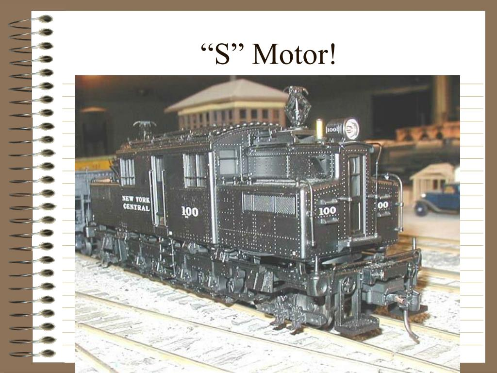 """S"" Motor!"