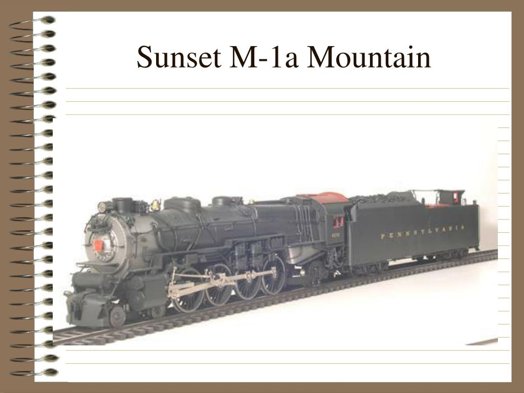 Sunset M-1a Mountain