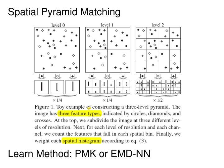 Spatial Pyramid Matching