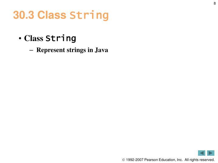 30.3 Class