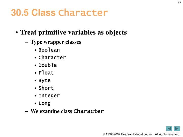 30.5 Class