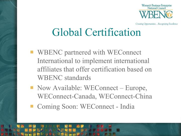 Global Certification