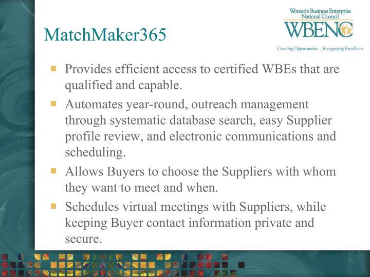 MatchMaker365