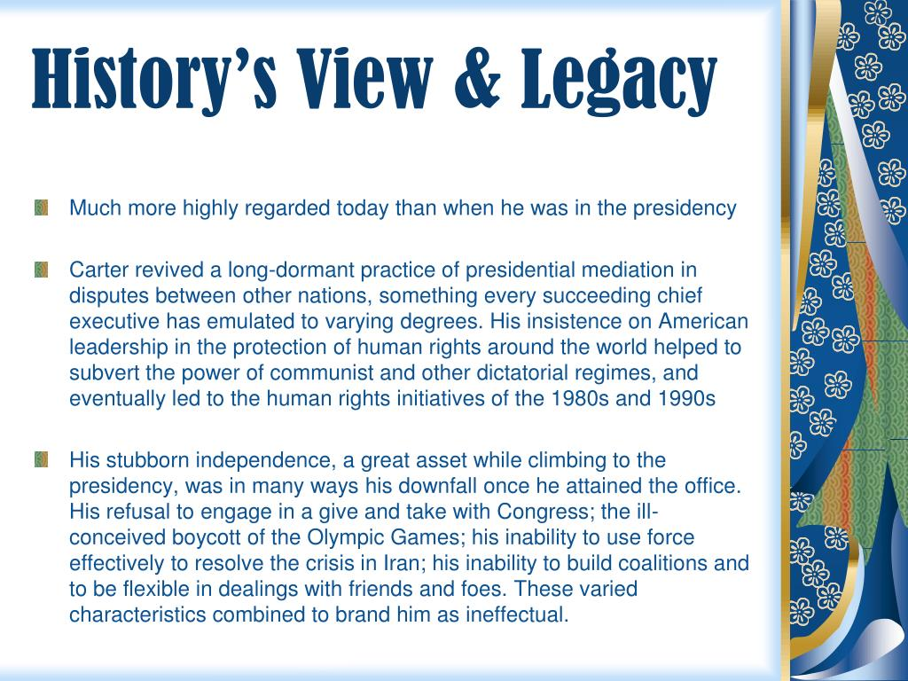 History's View & Legacy