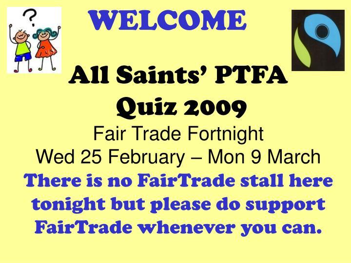 All Saints' PTFA