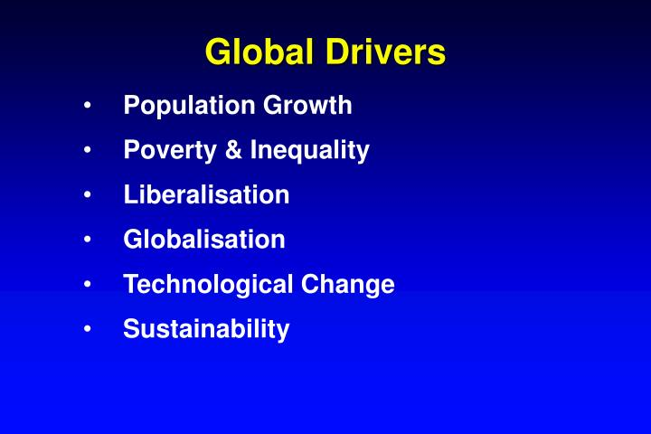 Global Drivers