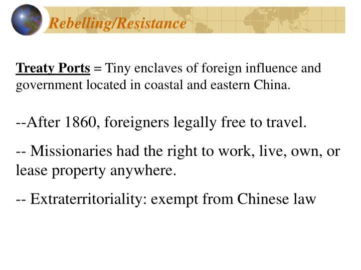 Rebelling/Resistance